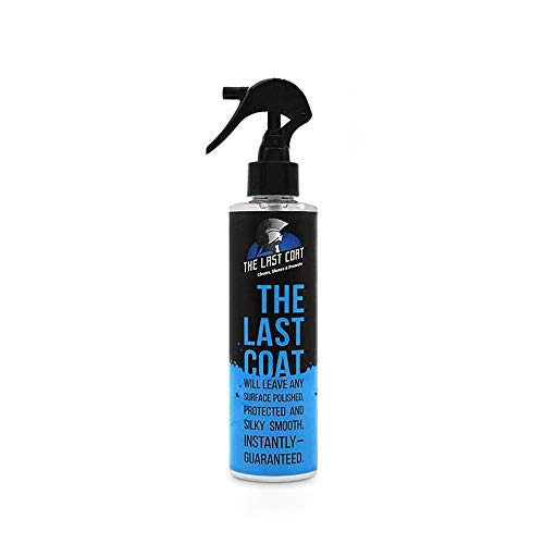 The Last Coat Premium Car Polish, Car Wax, Ceramic Coating for Cars, Water Based Liquid Shiny Coating Protection Detailing, Paint Shine Spray for Easy Use. Care with Top Coat Sealer, 8 oz
