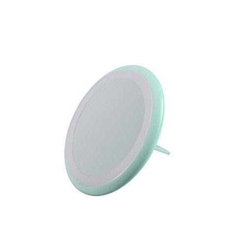 Infiniment Excellent Home Decor Centre 1 PC Portable Creative Mini Miroir de Maquillage avec LED Chargeur USB Type de Bague