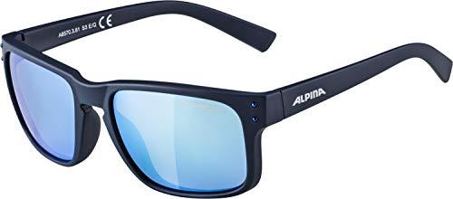 ALPINA KOSMIC Sportbrille, Unisex– Erwachsene, nightblue matt, one size