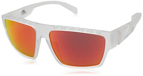 adidas Herren SP0008 Sonnenbrille, Crystal/Brown Mirror, 61