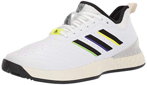 adidas Herren Limited-Edition Adizero Ubersonic 3 Tennisschuhe, Weiá (FTWR White/Core Black/Cream White), 47 EU