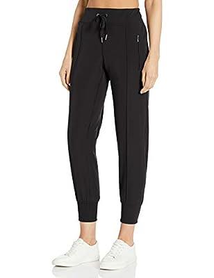 Calvin Klein Women's Jogger Pant (Regular and Plus Sizes), Nectar, Large