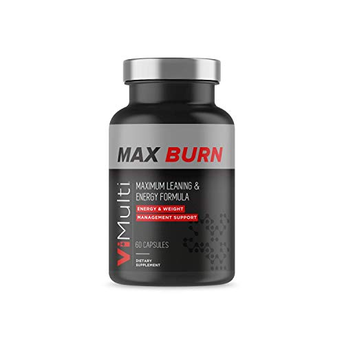 ViMulti Max Burn Weight Management Pills | Maximum Leaning & Energy Formula | Convert Fat Into Energy, Support Healthy Weight Loss, and Naturally Boost Your Metabolism Fast | Green Tea Extract (60 ct)