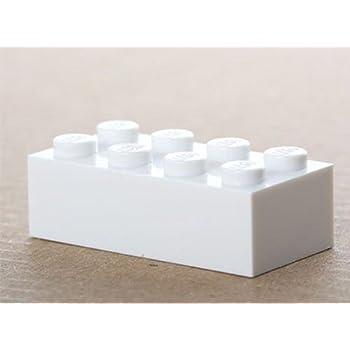 Lego Basic 100 x Stein 2x3 rot Baustein System