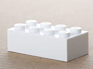 LEGO 100x white Basic Brick 2x4 (3001) New