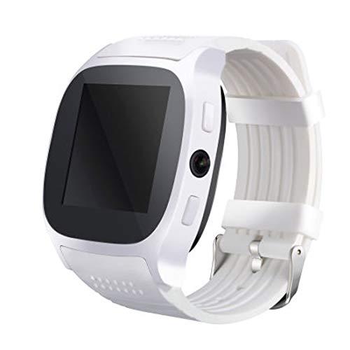 Reloj inteligente comunicación de radio, cámara desmontada, monitor de suspensión, anti-perdido, podómetro, plato giratorio, gsm, FM, soporte SD, cámara de 0.3MP, pantalla IPS de 1.54 pulgadas 6261D /