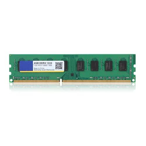 PC用メモリ Bewinner デスクトップパソコン用メモリ DDR3 1333MHz PC3-10600 4GB 1.5V 240Pin 高速ランニングスピードメモリRAM メモリモジュールボード