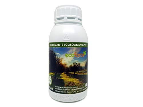 CULTIVERS Fertilizante Ecológico para Olivo Líquido. Abono 100% Orgánico con Macronutrientes y...