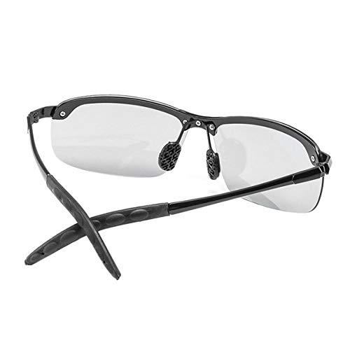 Óculos de sol fotocromáticos clássicos para dirigir óculos de sol polarizado masculino para descoloração de camaleão Óculos de sol para homens Óculos anti-reflexo 3043