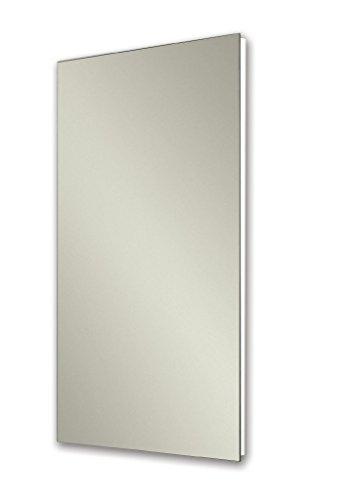 Jensen 1035P24WHGX - clóset Medicinal con Espejo Pulido, 40,6 x 66 cm