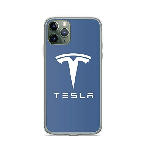 Phone Case Blue Tesla Compatible with iPhone 6 6s 7 8 X XS XR 11 Pro Max SE 2020 Samsung Galaxy Funny Drop Waterproof