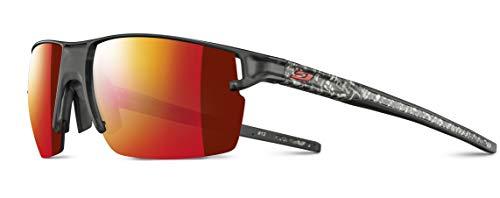 Julbo Outline - Gafas de sol para hombre, color negro translúcido/blanco, FR: M (talla fabricante: M)