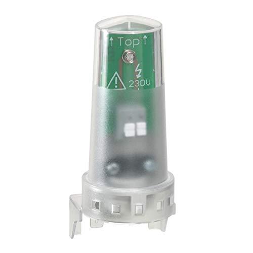 Célula fotoeléctrica de repuesto IP65 IK07 para usar con interruptores sensibles a la luz estándar o programables, color blanco, 5 x 7,8 x 11,5 centímetros (referencia: Legrand 412860)