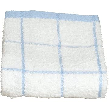 Kitchen Towel 15x25 White Some reservation with 12-718456 Check Package of Blue Save money