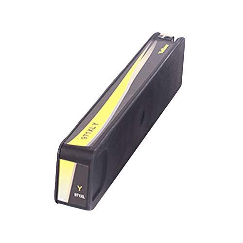 Cartuchos de tinta 970XL 971XL de repuesto para HP X576DW X451DN X551DW X476DN de alto rendimiento cartuchos de tinta de inyección de tinta negro y color amarillo
