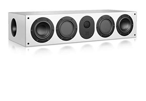 Nubert nuLine CS-174 Centerlautsprecher | Lautsprecher für Heimkino & Musikgenuss | Stimmen auf hohem Niveau | Passive Centerbox mit 3 Wege Technik Made in Germany | Kompaktlautsprecher Weiß