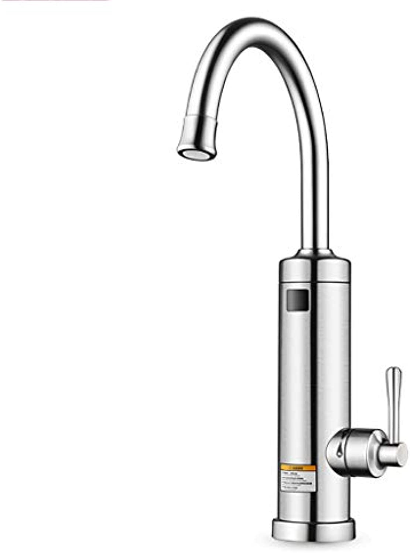 NUBAOgy Sofortiger Hahn Elektrischer Wasserhahn Heizung Heier Wasserhahn Küche Elektrischer Warmwasserbereiter Elektroheizung Wasserhahn