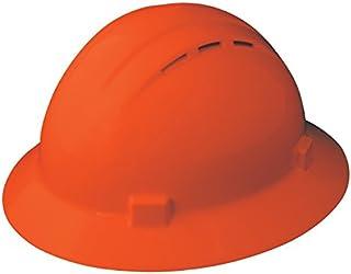ANSI Type I Dynamic Safety HP741R//05 Tremblant Hard Hat with 4-Point Nylon Suspension and Sure-Lock Ratchet Adjustment One Size Hi-Viz Red