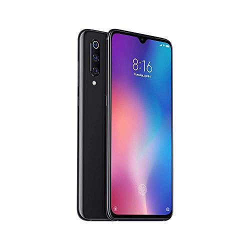 Xiaomi Mi 9 128GB + 6GB RAM - 48MP Ultra High Resolution Camera LTE Factory Unlocked GSM Smartphone (Global Version, No Warranty) (Piano Black)
