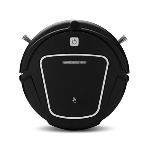 Best Buy! HJQFSJ Professional 4-in-1 Robotic Vacuum Cleaner HEPA Filter, Smart Anti-Fall Sensor for ...