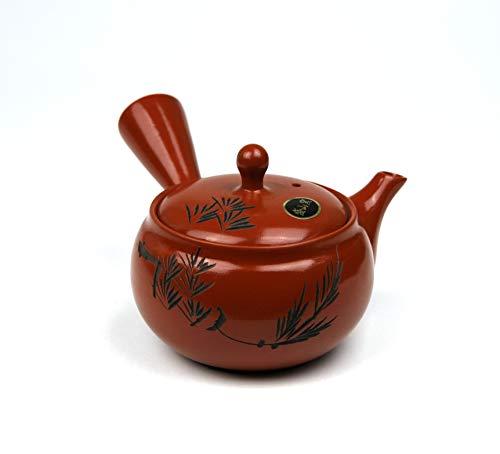 Japanese Teapot, Kyusu -Tokoname yaki (Medium, Japanese tree)