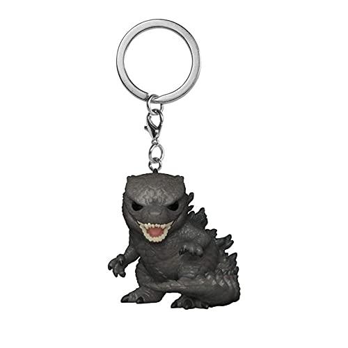 SDGH Portachiavi decorativo Godzillas / Action Figura dal classico film PVC portachiavi unisex