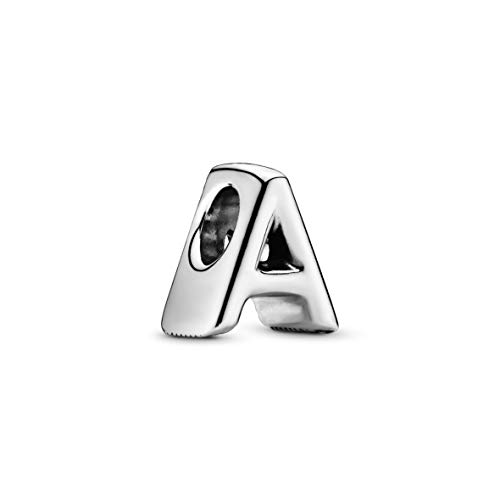Applicable to Pandoras Moments Letter A Alphabet Charm Sterling Silver 797455