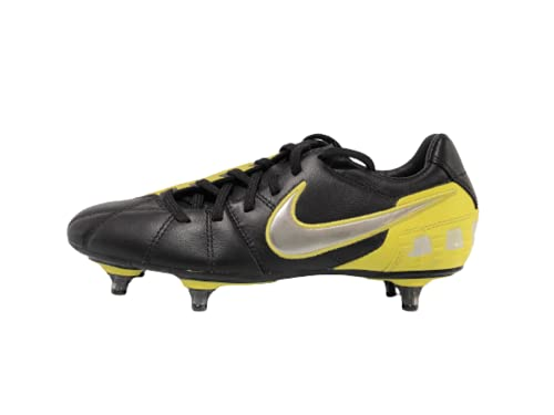 Nike TOTAL90 Shoot III L-SG - Scarpe da Calcio, Colore: Nero/Argento, (Nero), 40