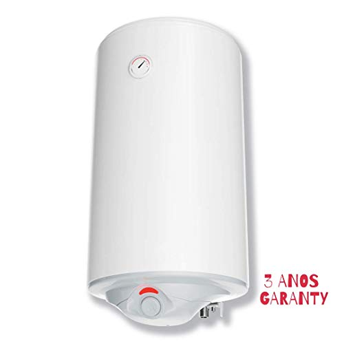 Ryte Eco Termo Eléctrico 50 litros | Calentador de Agua Vertical, Serie Premium Eco, Instantaneo - Aislamiento de alta densidad