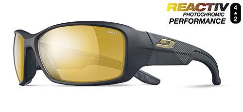 Julbo Run - Gafas de Sol, Hombre, Color Noir Mat/Noir, tamaño Talla única