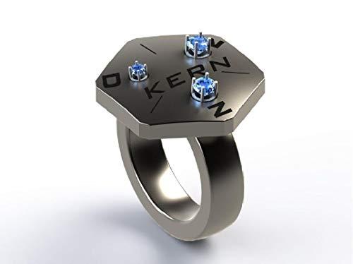 KERN JD-A01 Kalibrierring für Diamanttester und Moissanittester