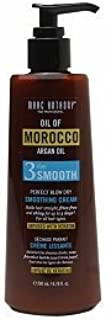 Marc Anthony True Professional Oil of Morocco Argan Oil 3 Day Smooth Perfect Blow Dry Smoothing Cream, 6.76 fl oz