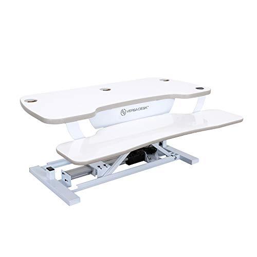 VersaDesk Power Pro USA Manufactured | Electric Height-Adjustable Desk Riser | Standing Desk...