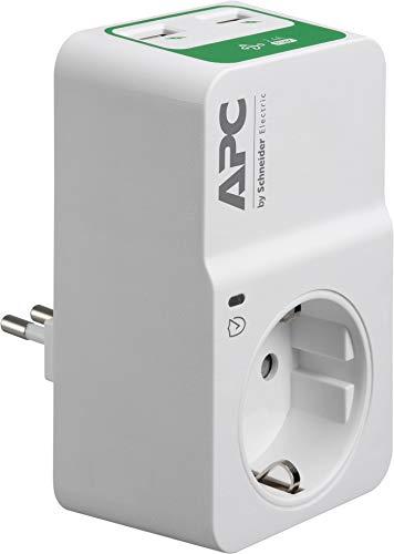 APC PM1WU2-IT - Spannungsschutz (918 J, 1 AC-Ausgänge, 230 V, 50 Hz, 16 A, 12000 A)