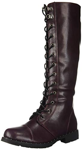 Dirty Laundry by Chinese Laundry Women's Roset Combat Boot, Oxblood, 6.5 M US
