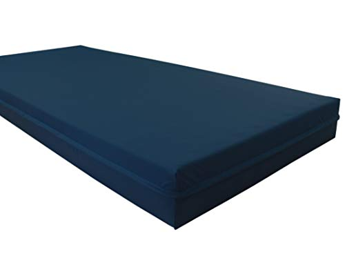 Biona Inkontinenzbezug Matratzenschutzbezug 90 x 200 x 20 blau