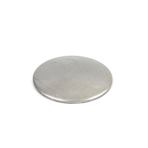 Edelstahl V2A Schale, Deckel, Kappe. Gewölbt. Dicke 2 mm Abmessungen Ø 42 mm, 10 Stück!