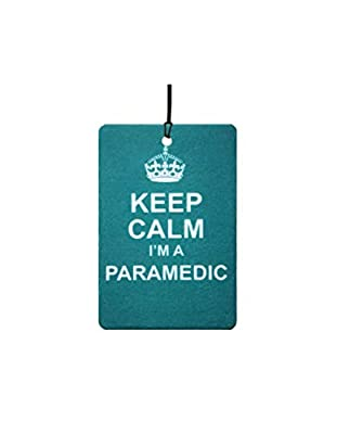 Keep Calm I'm A Paramedic Car Air Freshener from AAF