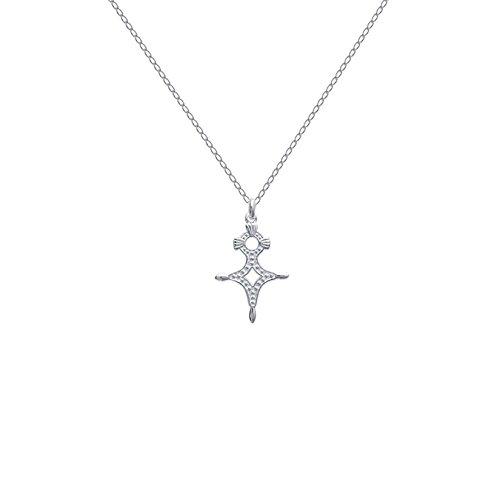 Halskette Kreuz des Südens 50cm Echt Silber 925NEU