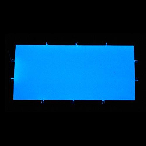 EL-Folie/Leuchtfolie/Plasmafolie Farbe: BLAU Größe: 200x100mm inkl. Zubehör