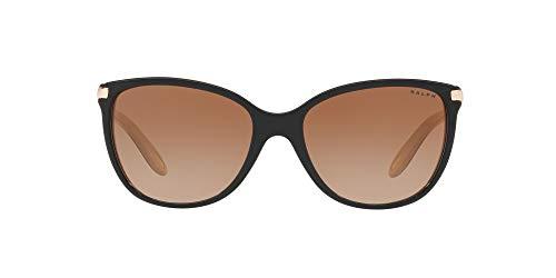 Ralph Lauren RALPH BY Ra5160 Gafas de Sol, Black/Nude, 57 para Mujer