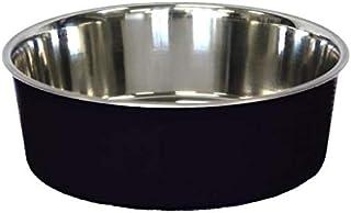 Bella Designer Stainless Steel Bowl, Black