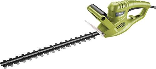 Extol Craft Taille-haie électrique, 500 W, 450 mm Longueur du couteau, 16 mm Distance à dents, 1 pièce, vert, 415113