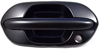 PT Auto Warehouse HO-3613P-FL - Outside Exterior Outer Door Handle, Primed Black - Driver Side Front