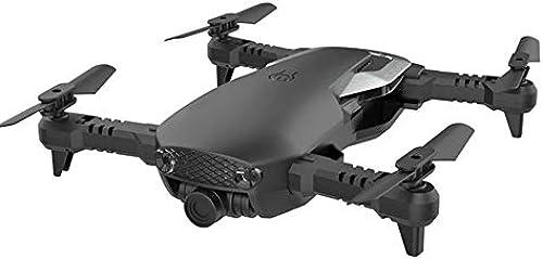 ZHEL Drohne und Kamera 200W HD-Fotografie, 4-Achsen-Gyro WiFi-Fernbedienung für Kinder Anf er Mini-Drohne,schwarz