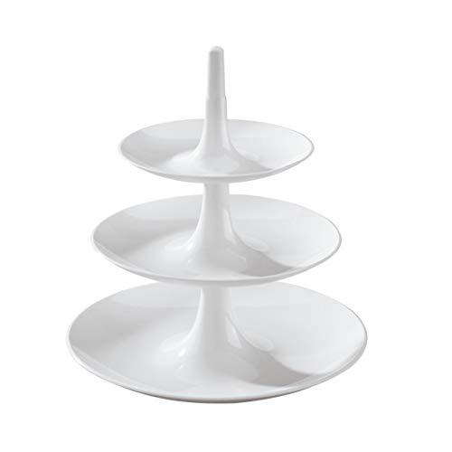 Koziol - Alzata Babell, Plastica, Bianco, XS