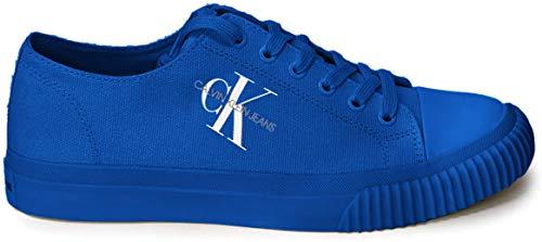 Calvin Klein Jeans Iaco - Zapatillas deportivas para hombre, color blanco Size: 45 EU