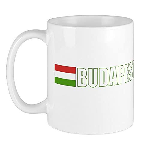 CafePress - Budapest, Ungarn Flagge (Dark) Tasse - Einzigartige Kaffeetasse, Kaffeetasse, Teetasse