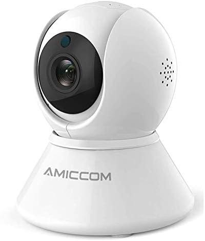 Home Security Camera Indoor WiFi Camera Wireless 1080p HD Pan Tilt Zoom Cam Pan Wi Fi Smart product image