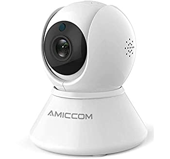 Wireless Security Camera WiFi Camera Indoor Home 1080p HD Pan/Tilt/Zoom Cam Pan Wi-Fi Smart IP Camera for Baby/Pet/Nanny Motion Detection 2 Way Audio Night Vision